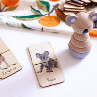 5 Little Bears - Australian Animals Matching Puzzle Furry