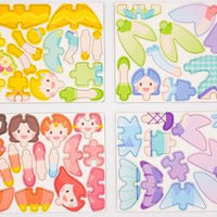 Mieredu - Puzzle + Draw Magnetic Kit Fairies