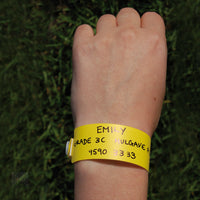 Micador - Excursion Ids Wristbands