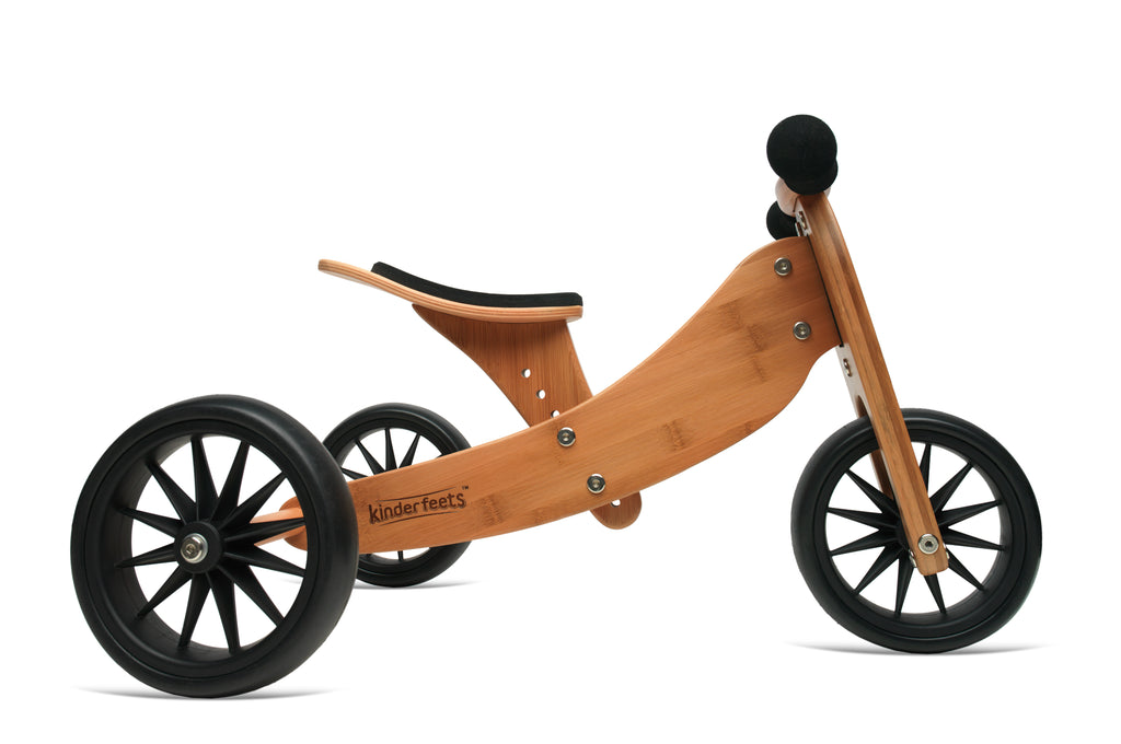 Kinderfeets - Tiny Tot Plus Trike/Balance Bike Bamboo