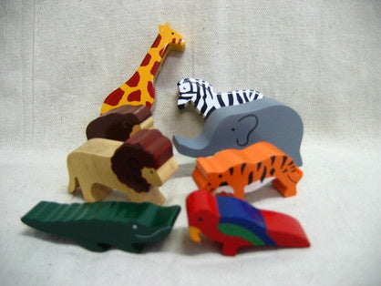 Sri Toys - Wooden Animals Jungle