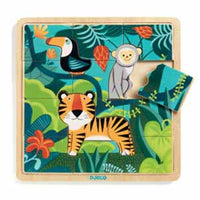 Djeco - Wooden Puzzle Jungle