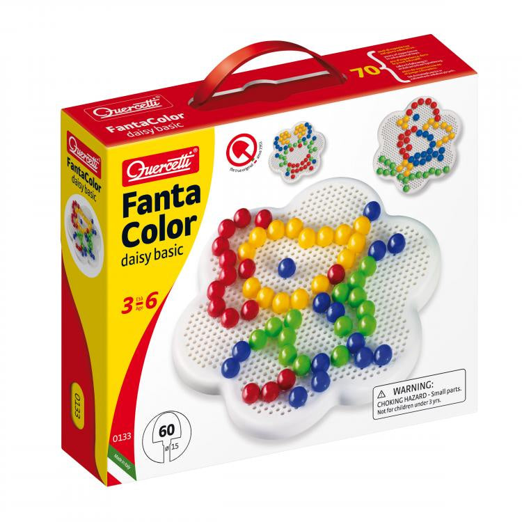 Quercetti - Fanta Color Daisy Basic 60 piece
