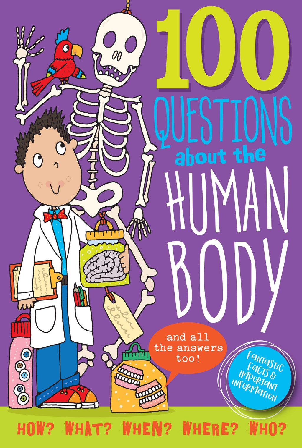 Peter Pauper - 100 Questions about the Human Body