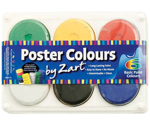 Zart - Poster Colours Palette Basic