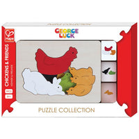 George Luck - Chickens & Friends Puzzle