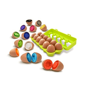 Play and Learn - Yolkey Mix and Match Eggs