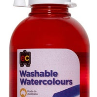 EC - Washable Watercolour Red
