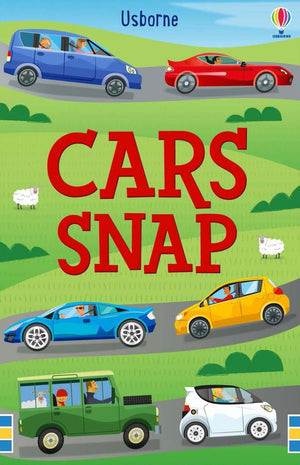 Usborne - Cars Snap