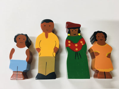 Sri Toys - Wooden Family African