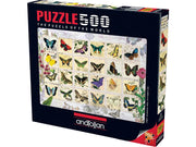 Anatolian - Puzzle 500p Butterfly Stamps