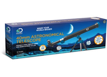 Discovery Adventures - 40mm Astronomical Telescope