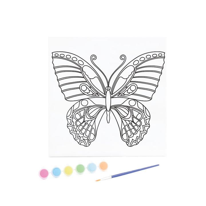 Kaisercraft - Canvas Art Kit Butterfly