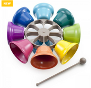 Artiwood - Rainbow Musical Spinning Bells