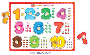 Fun Factory - Peg Puzzle Numbers
