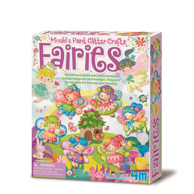 4M - Mould & Paint Glitter Fairies