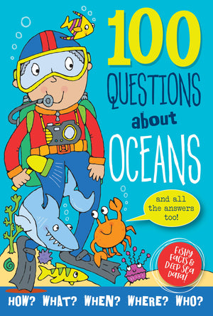 Peter Pauper - 100 Questions about Oceans