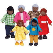 Hape - Doll Family African