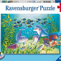 Ravensburger - Puzzle 2x12p On the Seabed