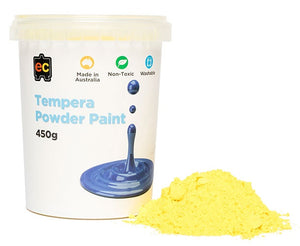 EC - Tempera Powder Paint Yellow