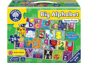 Orchard - Puzzle Big Alphabet & Poster
