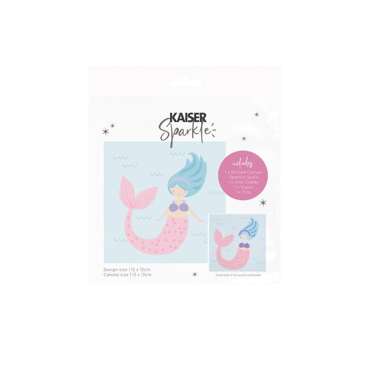 Kaisercraft - Sparkle Art Kit Mermaid