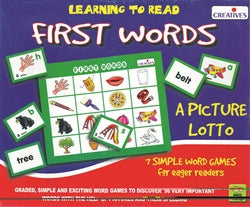 Creative's - Learning to Read First Words