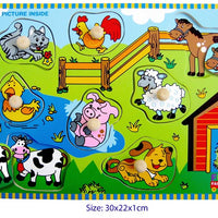 Fun Factory - Peg Puzzle Farmhouse