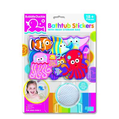 4M - Bathtub Stickers Sea Life