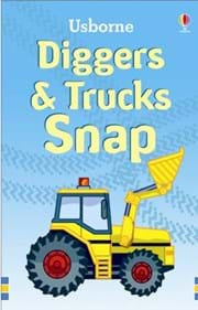 Usborne - Diggers and Trucks Snap