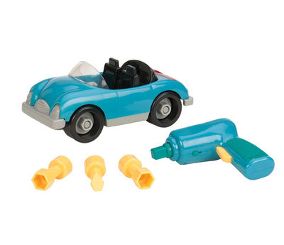 Battat - Take Apart Roadster Blue