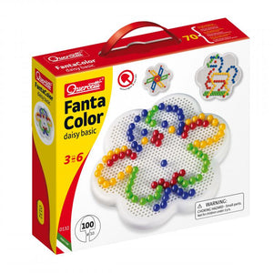 Quercetti - Fanta Color Daisy Basic 100 piece