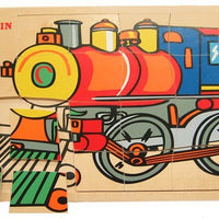 Fun Factory - Train Engine Puzzle