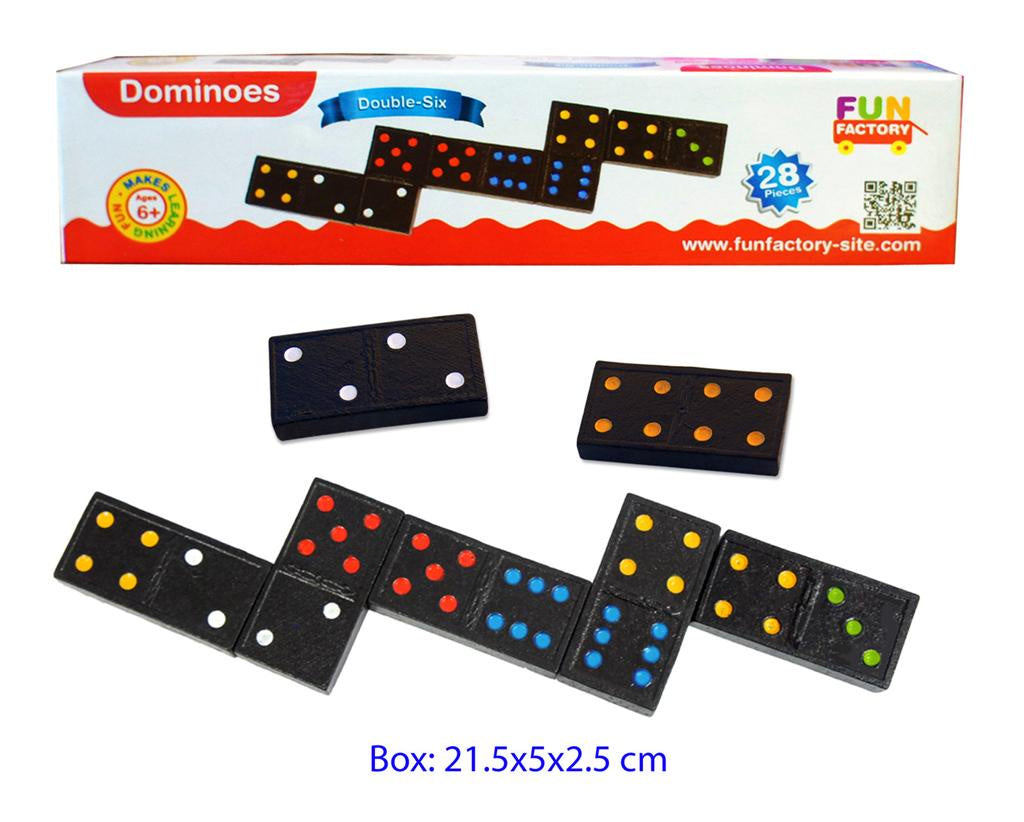 Fun Factory - Wooden Dominoes