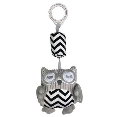 ES Kids - Owl Chime Toy Black
