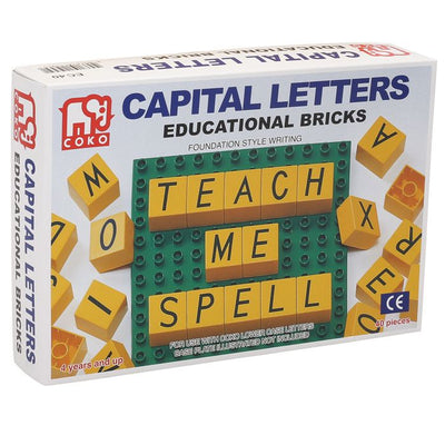 Coko - Learning Bricks Uppercase 40p