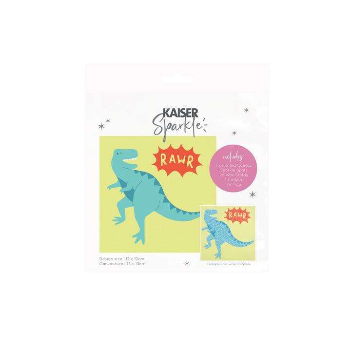 Kaisercraft - Sparkle Art Kit Dinosaur