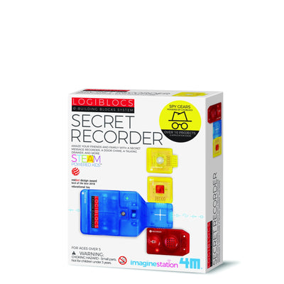 4M - Logiblocs Secret Recorder