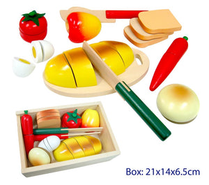Fun Factory - Wooden Cutting Picnic Box