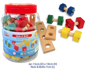 Fun Factory - Wooden Nuts & Bolts