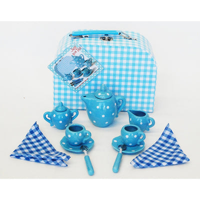 Champion - Porcelain Tea Set Blue