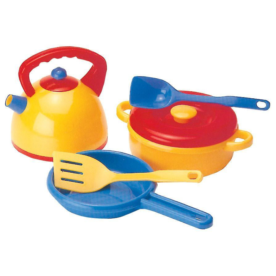 Dantoy - Kettle & Pans Set