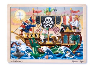 Melissa & Doug - Tray Puzzle Pirate Adventure