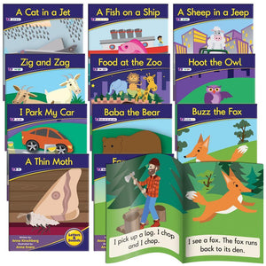 Junior Learning - Decodable Fiction Readers Phonics Phase 3