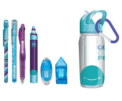 GoGoPo - Sports Bottle Bundle Blue