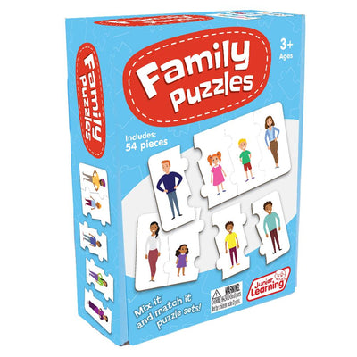 Junior Learning - Family Puzzles