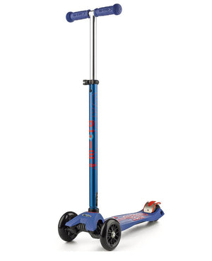 Micro Scooters - Maxi Micro Deluxe 3 Wheel Scooter Blue