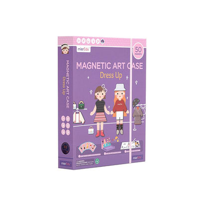 MierEdu - Magnetic Art Case Dress Up