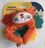 Soft Animal Scrunchy Tiger