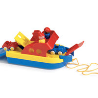 Viking - Ferry Boat with 2 cars & 2 figures